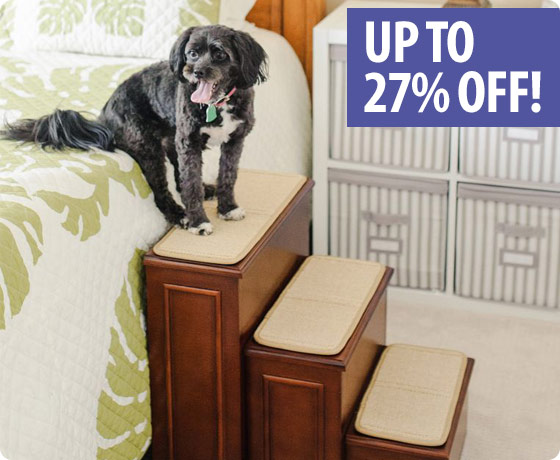 Up to 27% off Gen7Pet™ Steps & Ramps