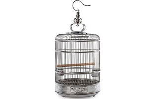 Prevue Lotus Stainless Steel Bird Cage