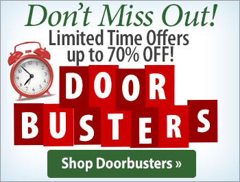 Doorbuster Savings up to 70% Off! Limited Time Offer