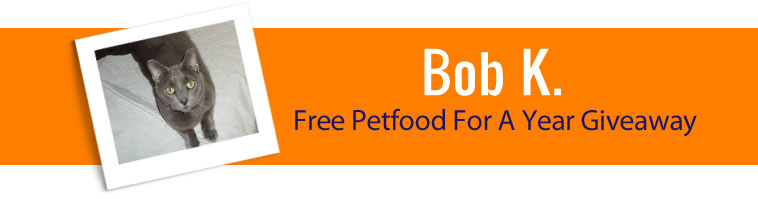 1800PetSupplies.com's Free Pet Food For a Year Giveaway Winner
