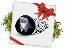 K&H™ Self-Warming Zebra Kitty Sack!